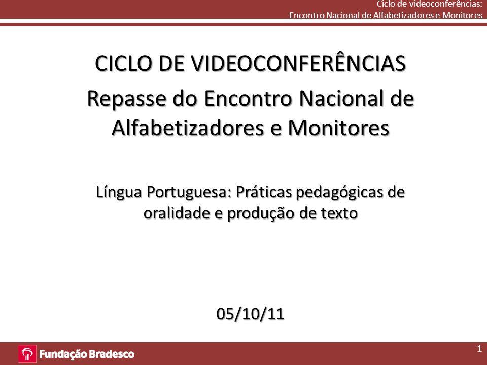CICLO DE VIDEOCONFERÊNCIAS