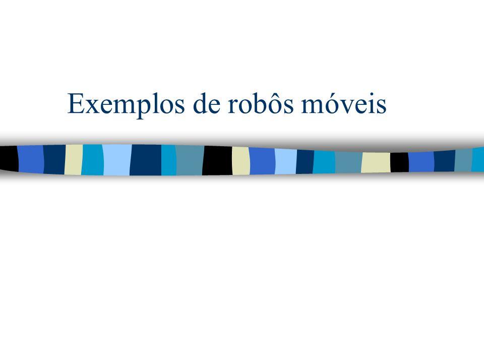 Exemplos de robôs móveis