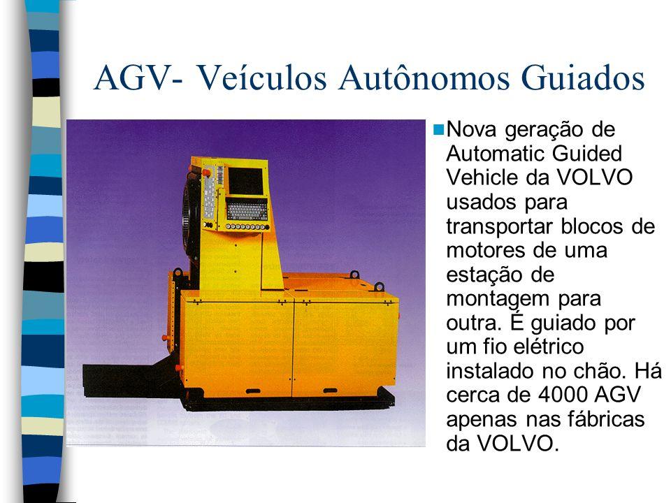 AGV- Veículos Autônomos Guiados