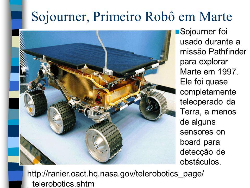 Sojourner, Primeiro Robô em Marte
