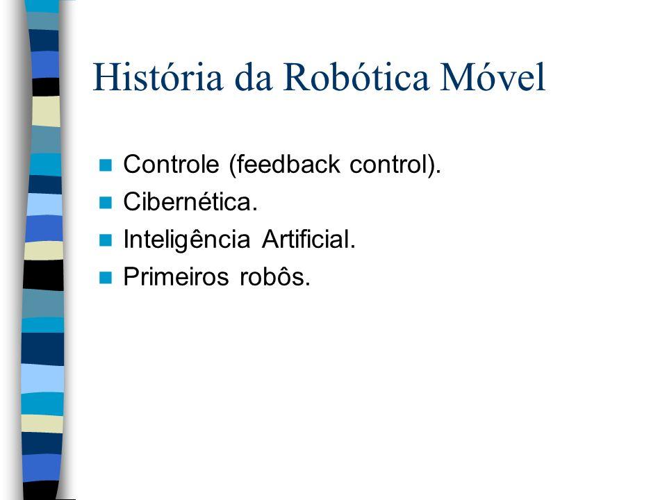 História da Robótica Móvel