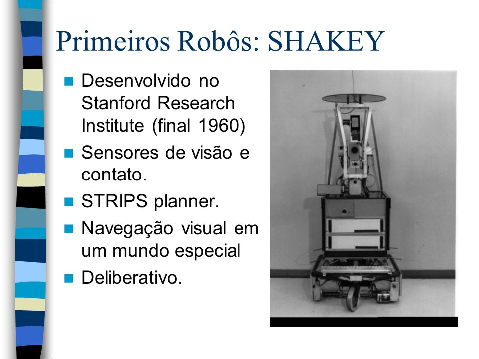 Primeiros Robôs: SHAKEY