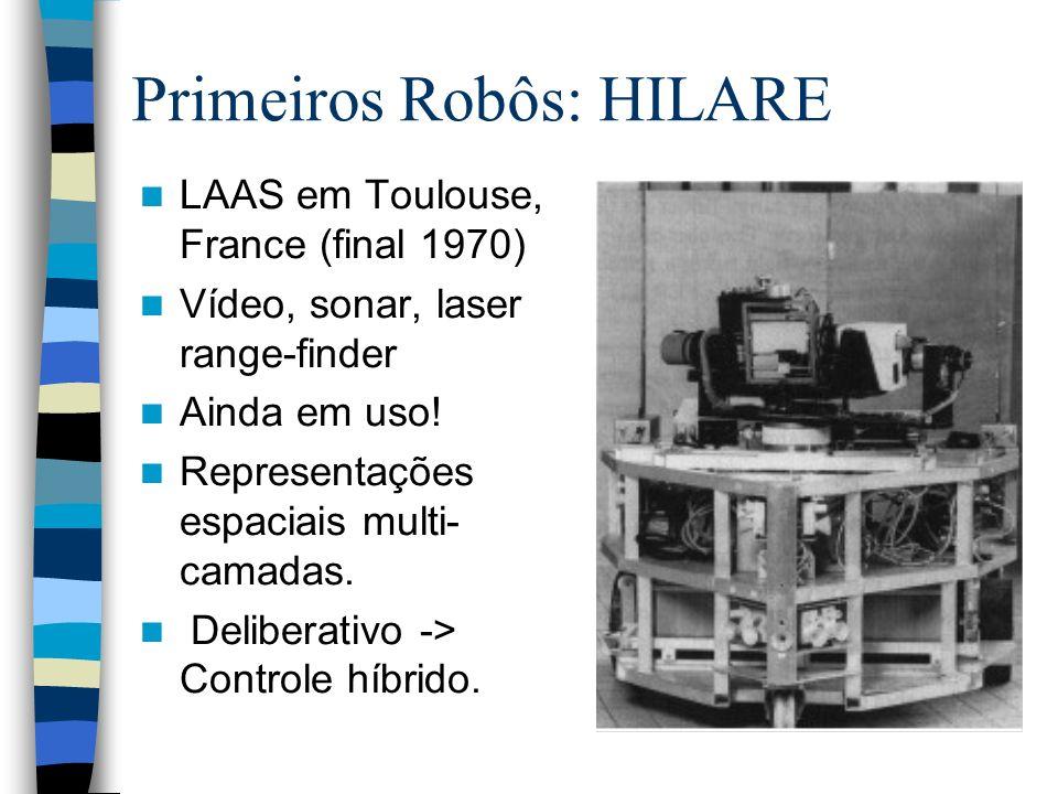 Primeiros Robôs: HILARE