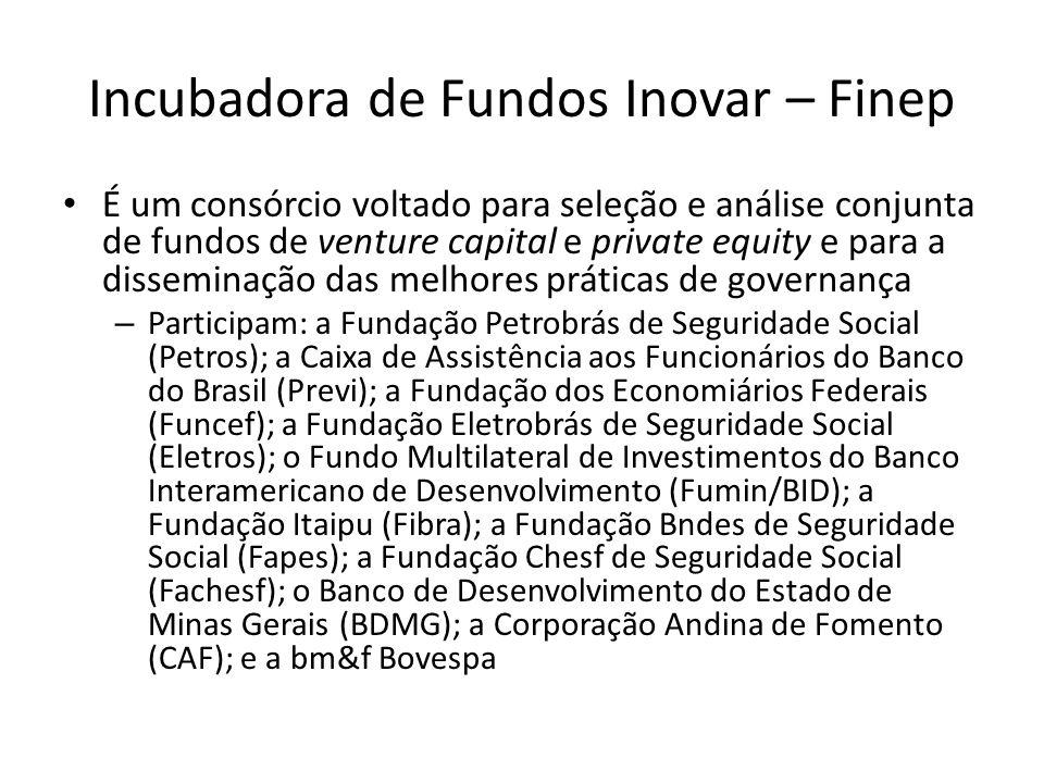 Incubadora de Fundos Inovar – Finep
