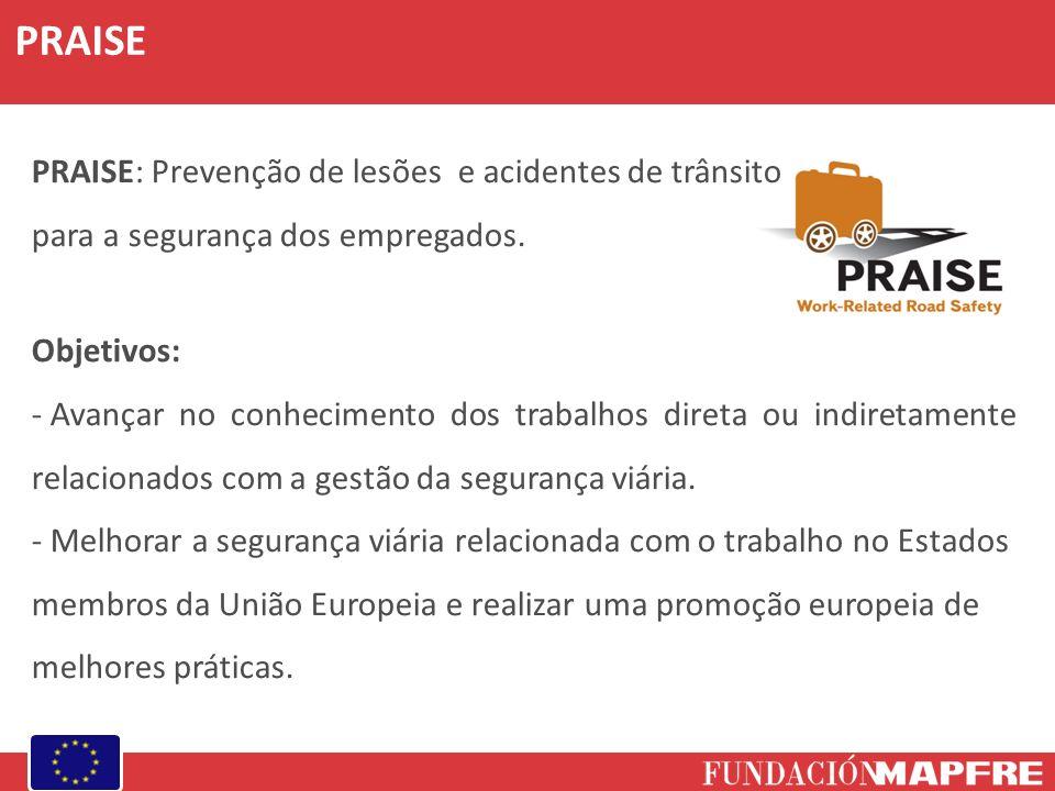 PRAISE PRAISE: Prevenção de lesões e acidentes de trânsito