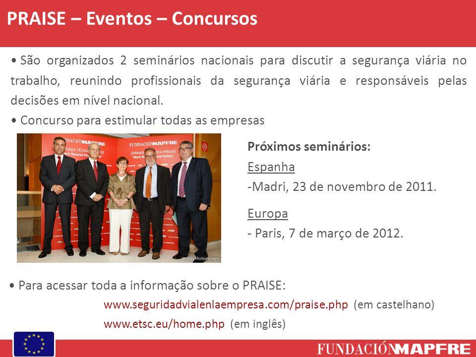 PRAISE – Eventos – Concursos