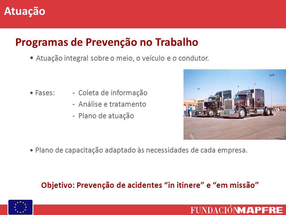 Objetivo: Prevenção de acidentes in itinere e em missão