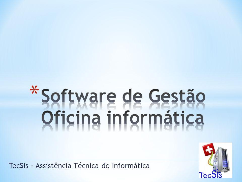 Software de Gestão Oficina informática