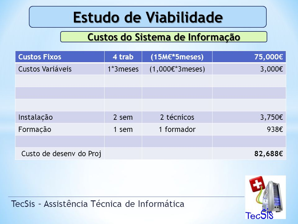 TecSis – Assistência Técnica de Informática