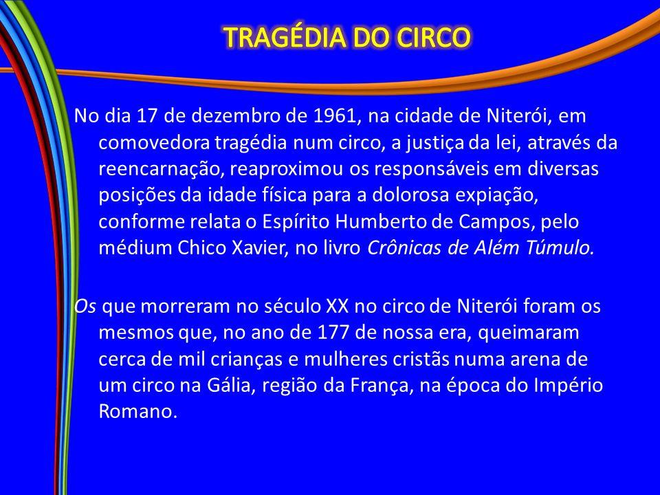 TRAGÉDIA DO CIRCO