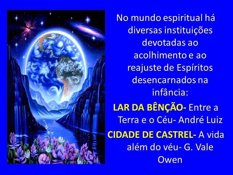LAR DA BÊNÇÃO- Entre a Terra e o Céu- André Luiz