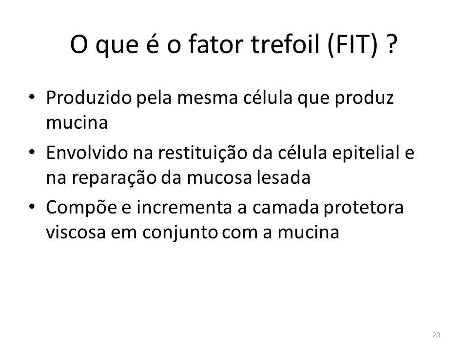 O que é o fator trefoil (FIT)