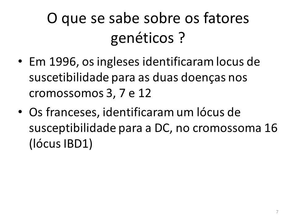 O que se sabe sobre os fatores genéticos