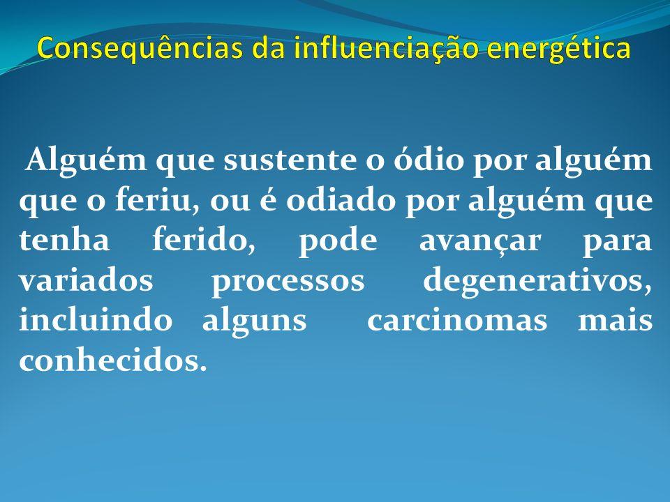 Consequências da influenciação energética