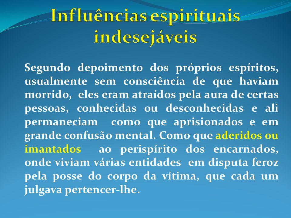 Influências espirituais indesejáveis