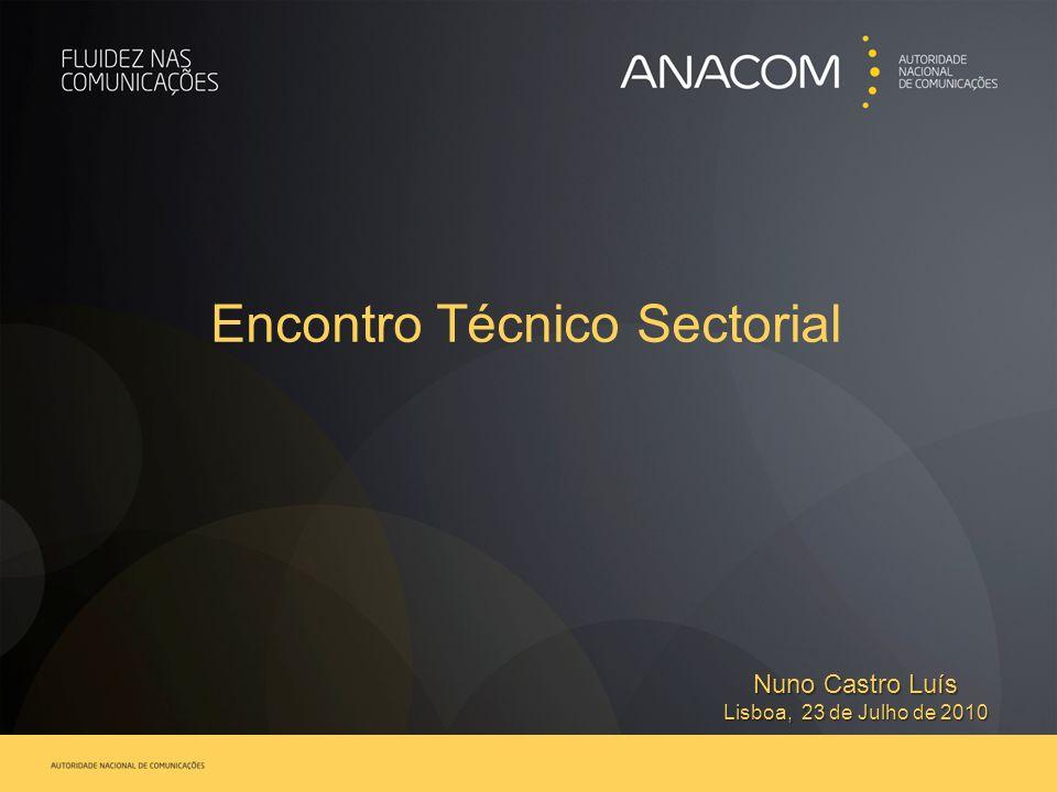 Encontro Técnico Sectorial