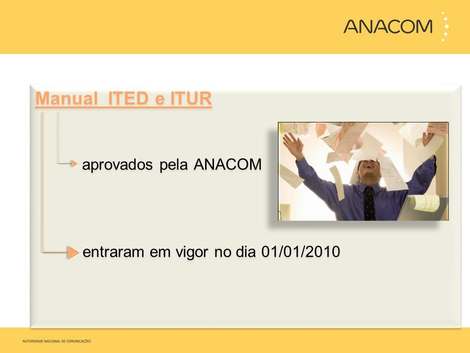 Manual ITED e ITUR aprovados pela ANACOM