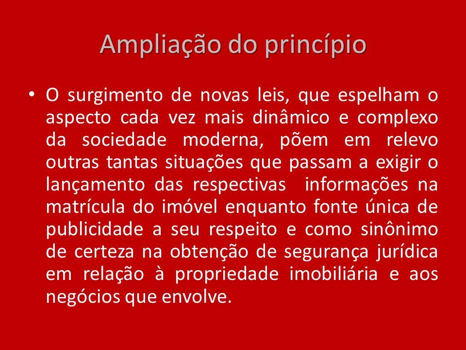 Ampliação do princípio