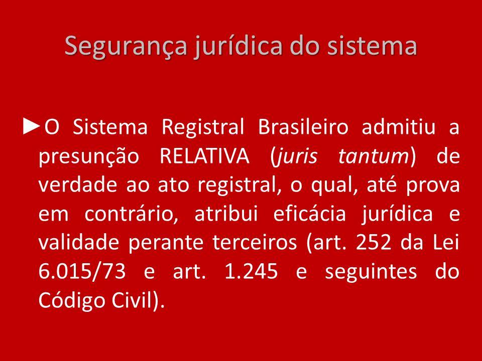 Segurança jurídica do sistema