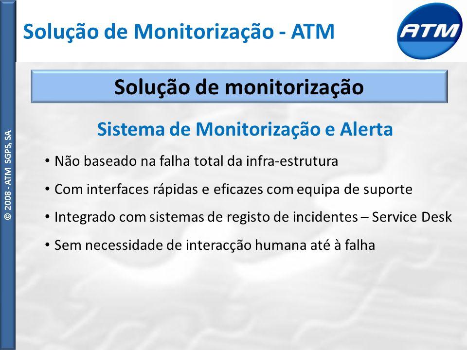 Solução de monitorização Sistema de Monitorização e Alerta