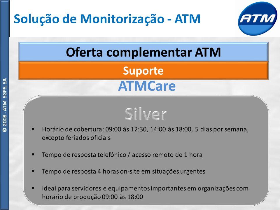 Oferta complementar ATM