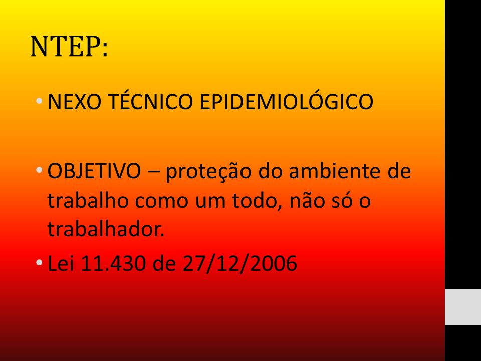 NTEP: NEXO TÉCNICO EPIDEMIOLÓGICO