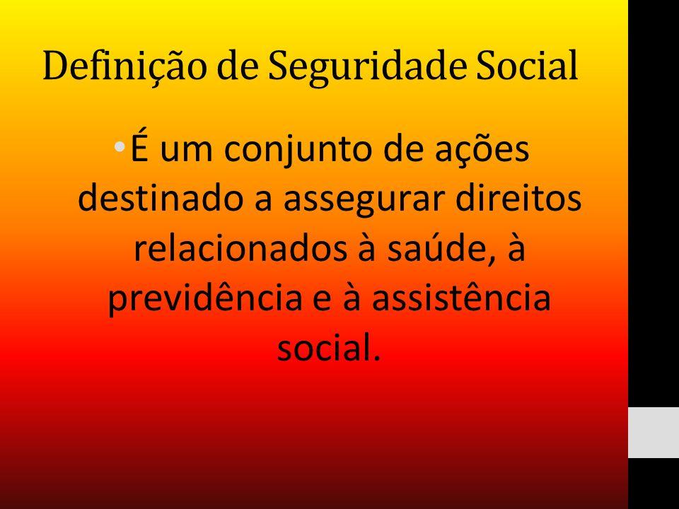 Definição de Seguridade Social
