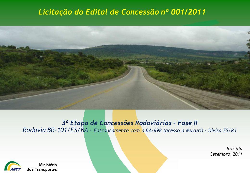 Licitação do Edital de Concessão nº 001/2011