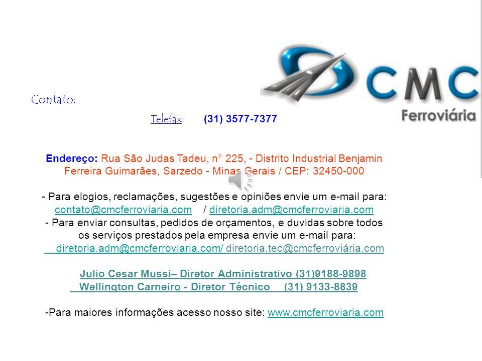 Contato: Telefax: (31) 3577-7377.