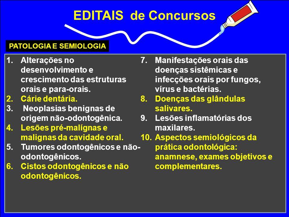 PATOLOGIA E SEMIOLOGIA
