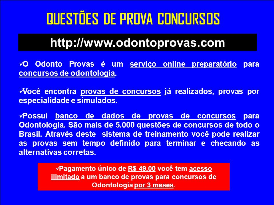 QUESTÕES DE PROVA CONCURSOS