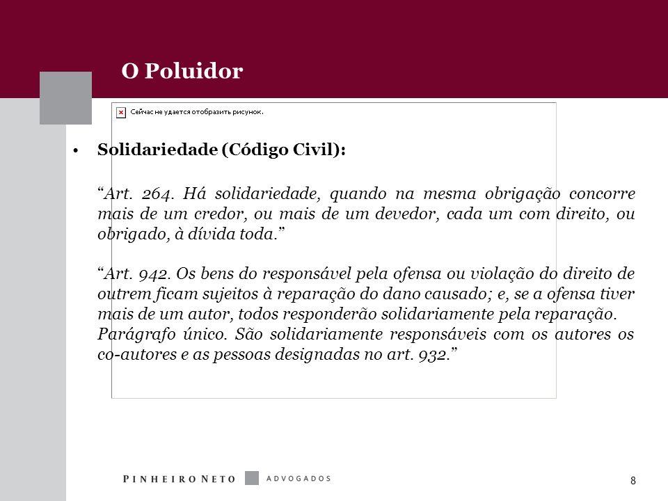 O Poluidor Solidariedade (Código Civil):