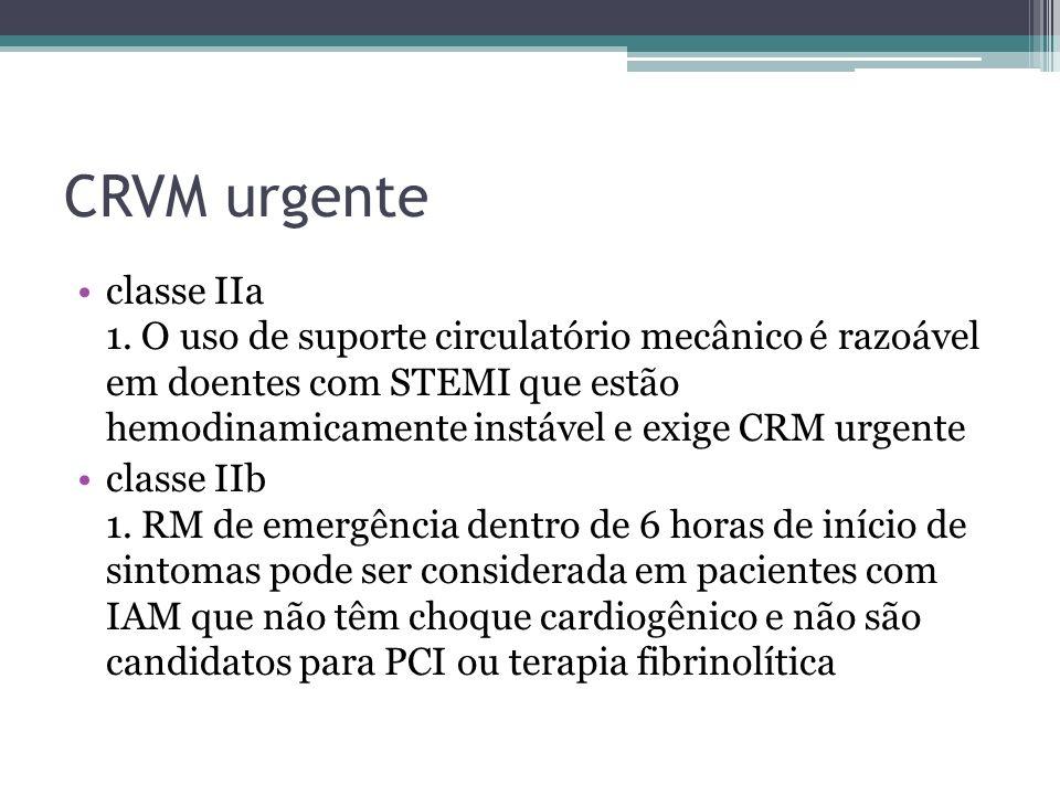 CRVM urgente