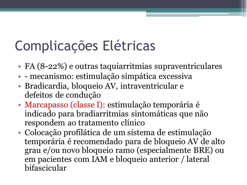 Complicações Elétricas
