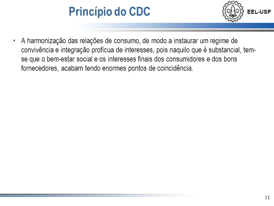Princípio do CDC