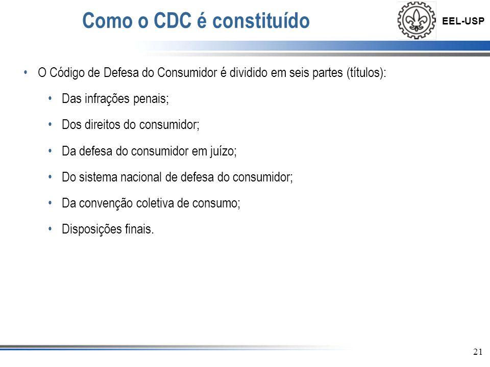 Como o CDC é constituído
