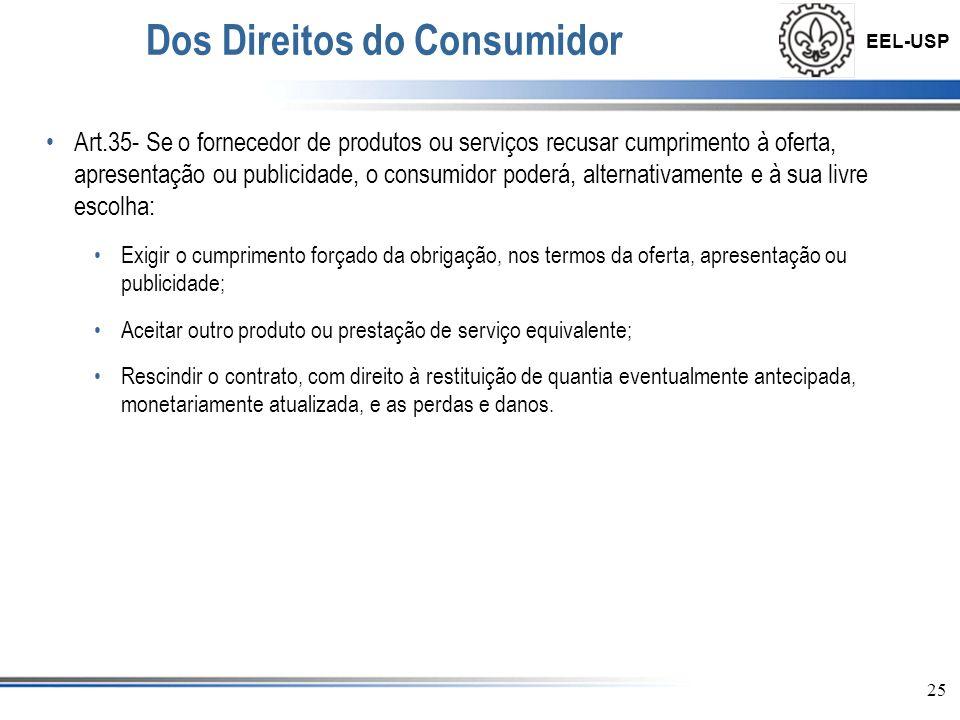 Dos Direitos do Consumidor