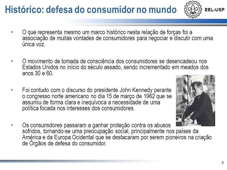 Histórico: defesa do consumidor no mundo