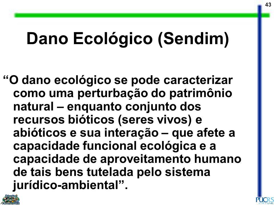 Dano Ecológico (Sendim)
