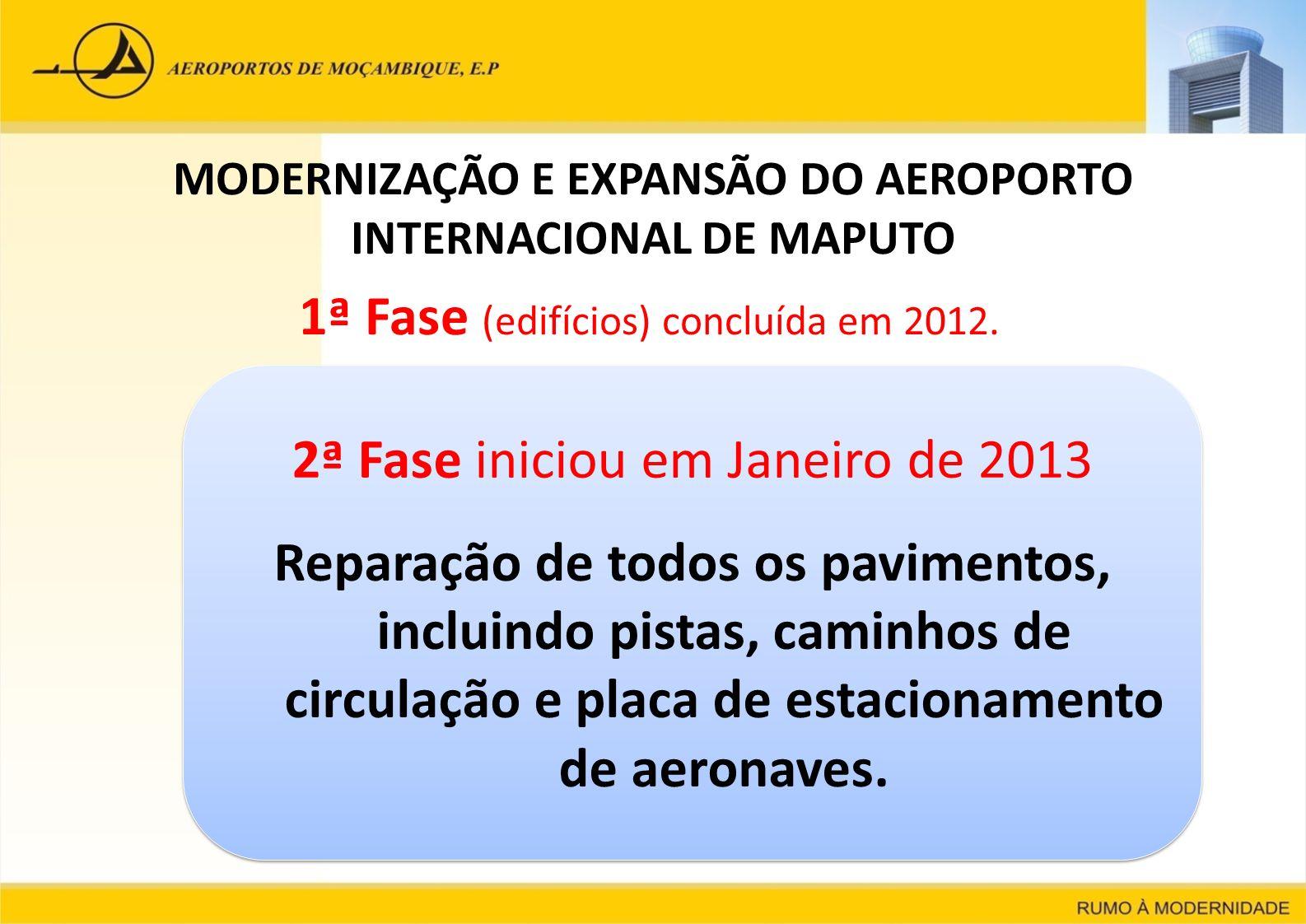 MODERNIZAÇÃO E EXPANSÃO DO AEROPORTO INTERNACIONAL DE MAPUTO