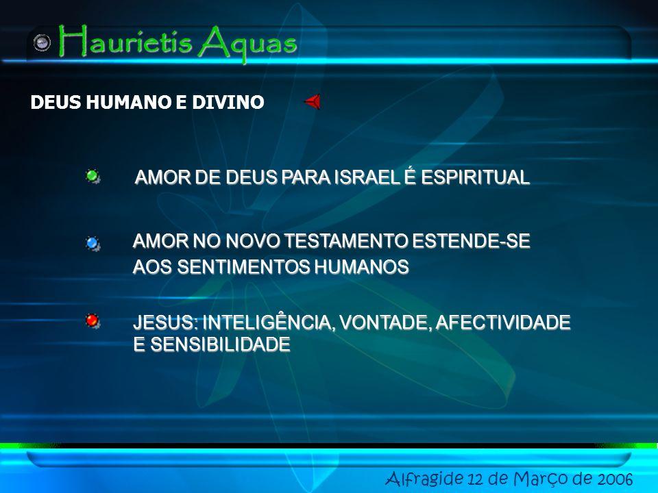 Haurietis Aquas DEUS HUMANO E DIVINO