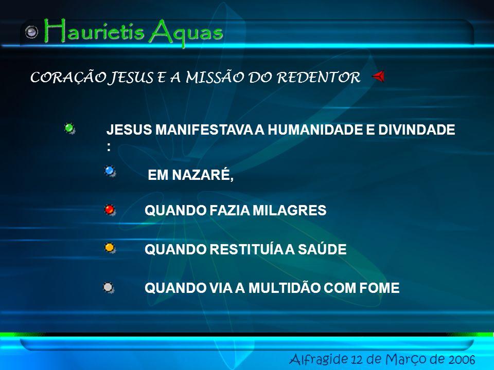 CORAÇÃO JESUS E A MISSÃO DO REDENTOR