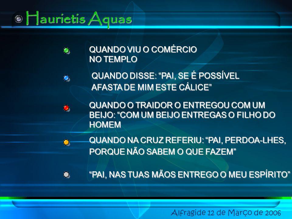 Haurietis Aquas QUANDO VIU O COMÉRCIO NO TEMPLO