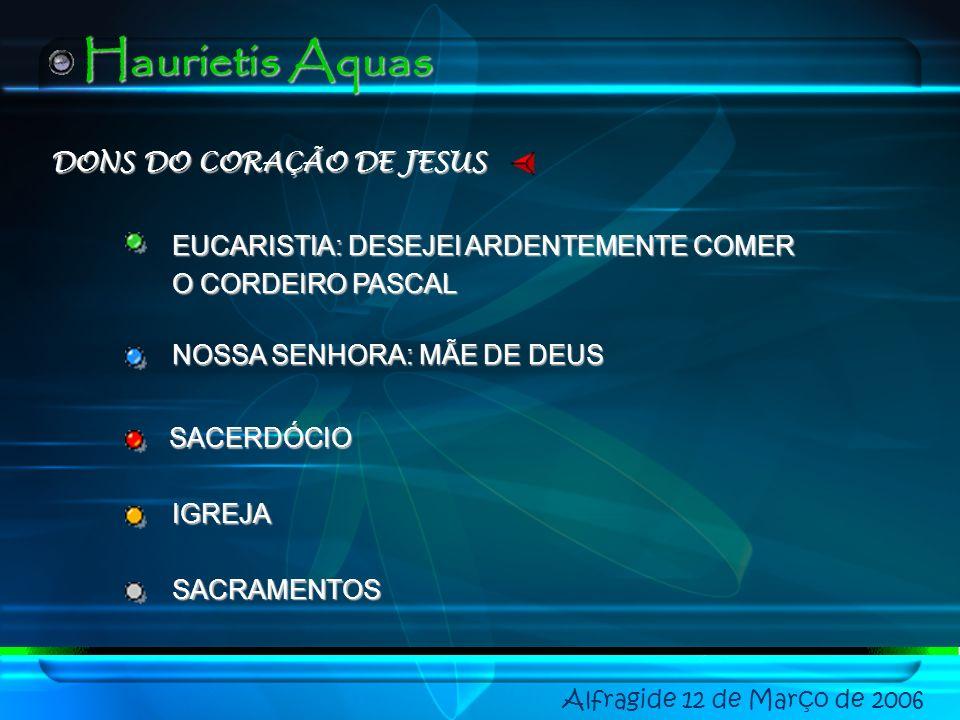 DONS DO CORAÇÃO DE JESUS