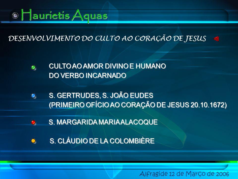 DESENVOLVIMENTO DO CULTO AO CORAÇÃO DE JESUS