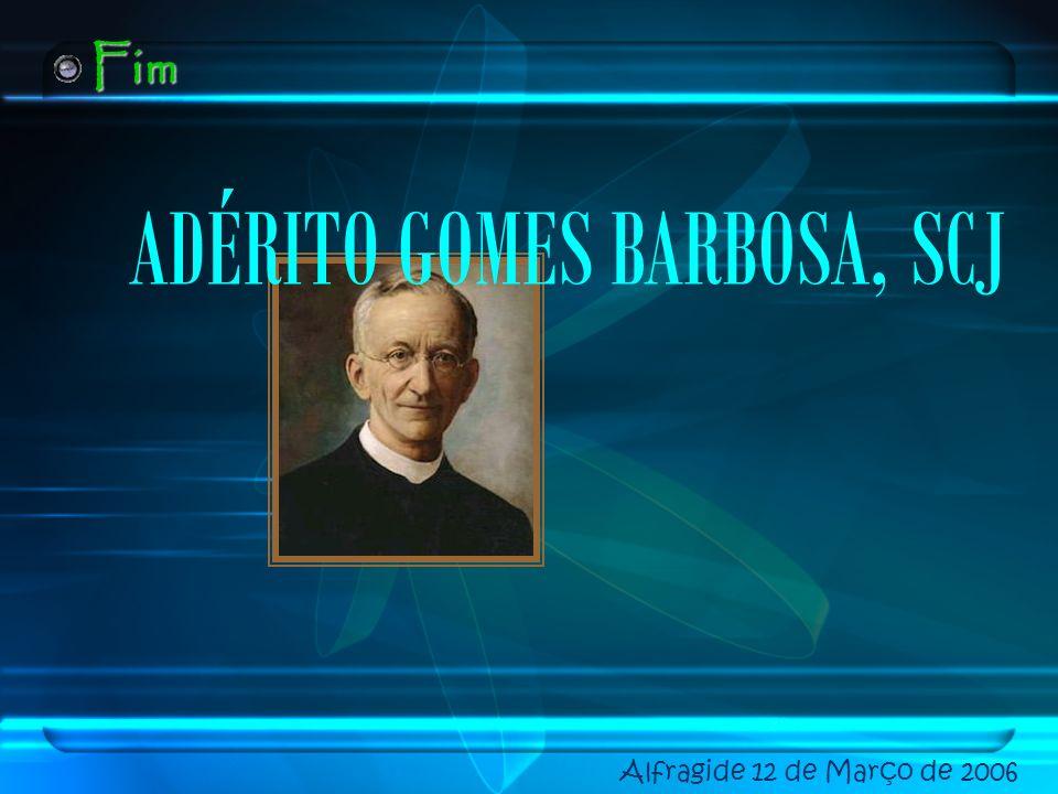 ADÉRITO GOMES BARBOSA, SCJ