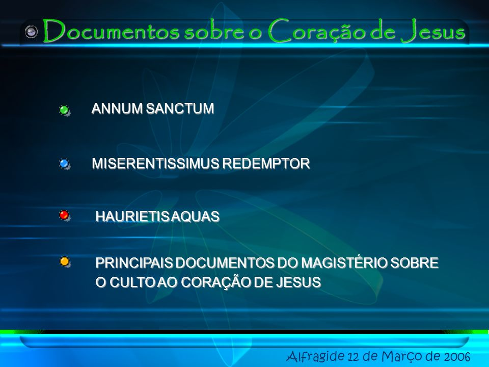 Documentos sobre o Coração de Jesus