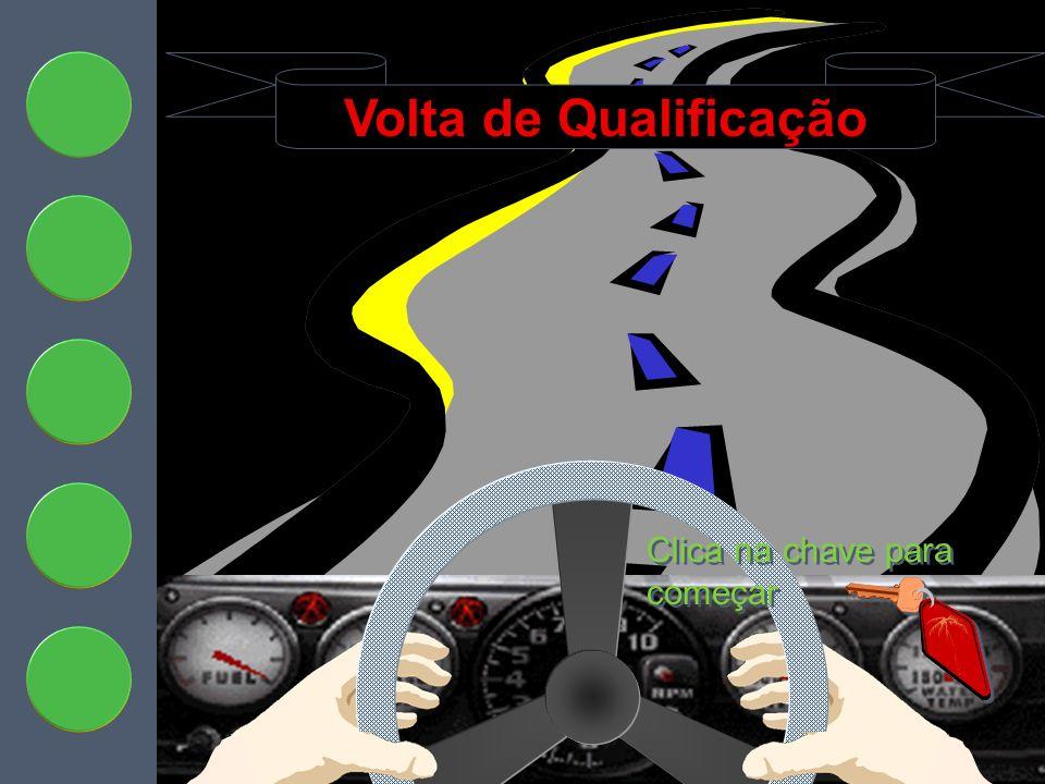 Volta de Qualificação Clica na chave para começar Qualifying Lap