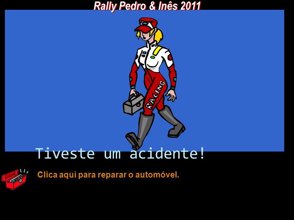 Tiveste um acidente! Rally Pedro & Inês 2011