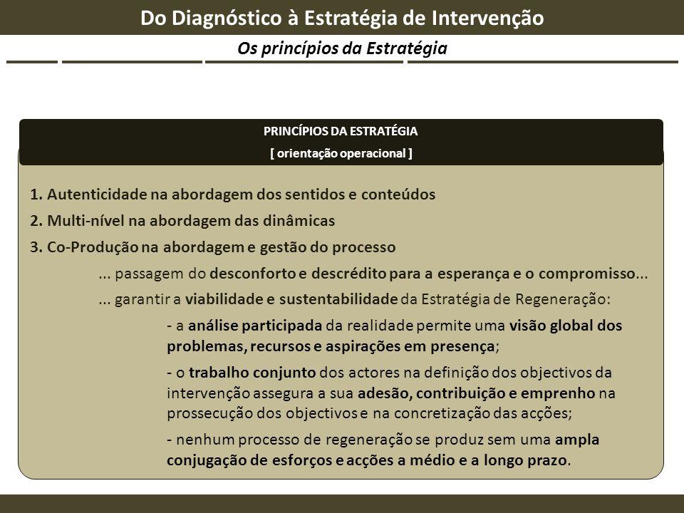 Do Diagnóstico à Estratégia de Intervenção